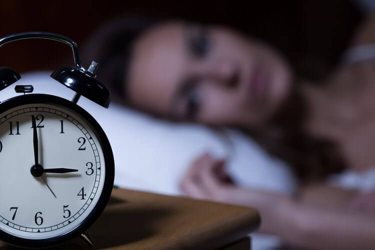 woman insomia